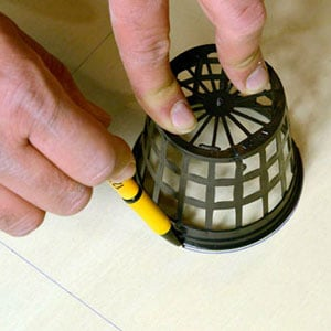 Draw circle on wooden