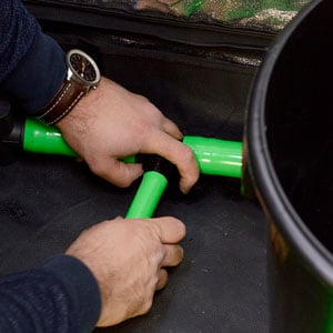 Green hose connect to other pots