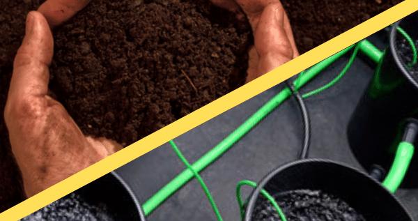 hydro and soil system for marijuana