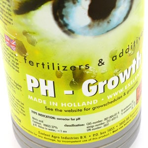 Marijuana Plants PH down