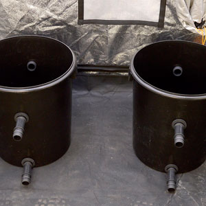 Two bucket with 4 straights