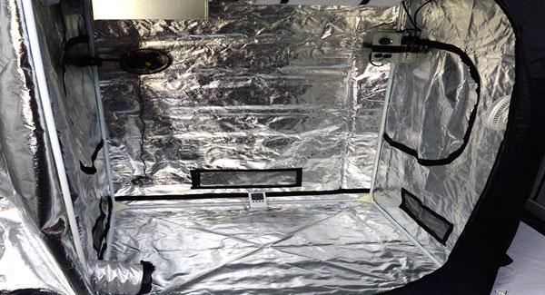 Ventilation Air flow for marijuana grow