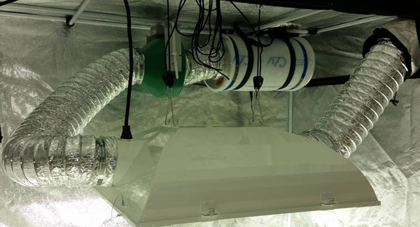 Lowering the temperature in your growing room Carbon filter