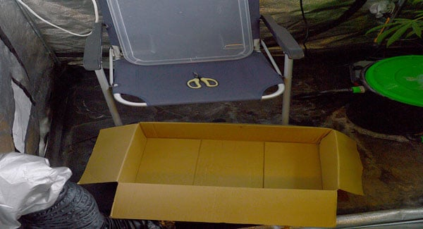Chair and box