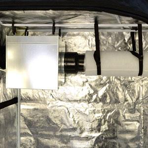 Air exhaust ventilation