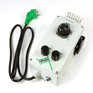 Fan controller for marijuana plant