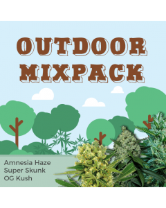 Outdoor Mix Pack Seed Variety Pack