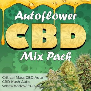 Autoflower CBD Seed Variety Pack